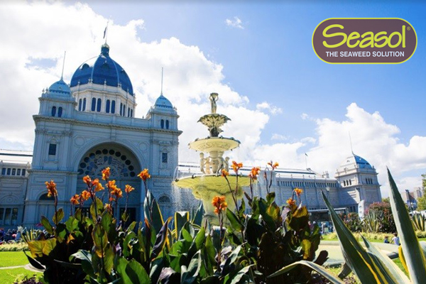Article image for 3AW live at the Melbourne International Flower + Garden Show