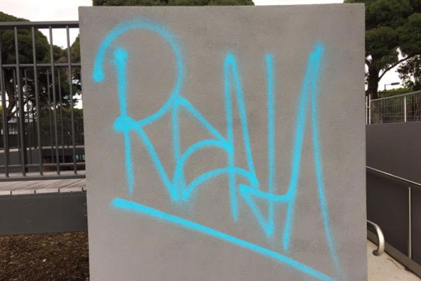 Article image for Word on the Street: Vandals deface new sports club with 'profane' graffiti