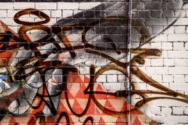 Article image for Sly of the Underworld: 'Shocker' the painter shares his encounter with a graffiti tagger