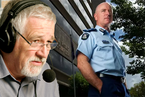 Article image for Chief Commissioner tells AC Guerin to stand aside and take leave