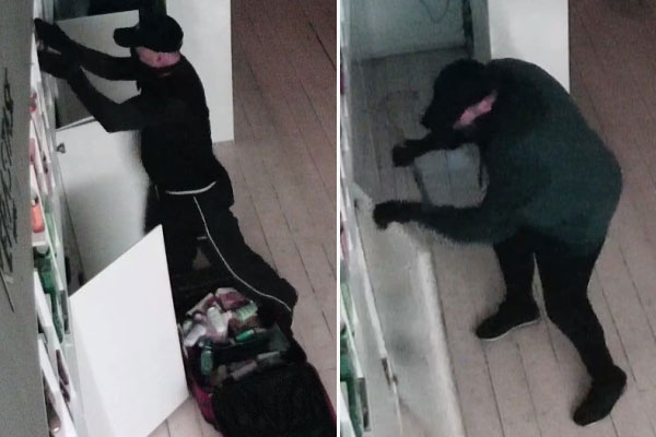Article image for Thieves steal suitcase full of hair products in Essendon salon burglary