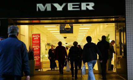 Article image for Myer's boss shown the door has Lew 'all over it'