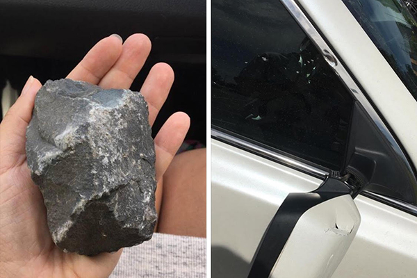 Article image for Rumour File: Rocks thrown at cars in random bizarre Strathmore attack