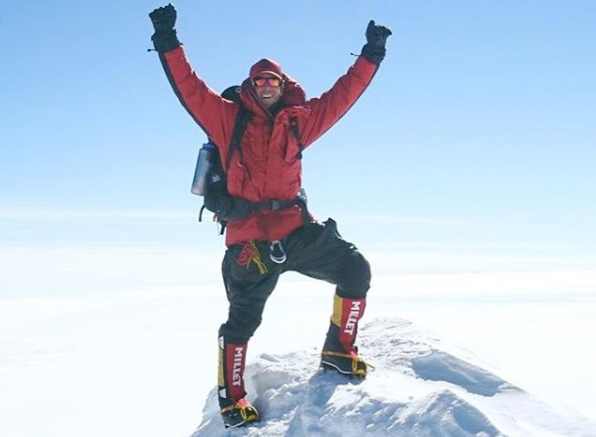 Article image for A Melburnian has become the youngest person to climb the highest mountain and volcano on every continent