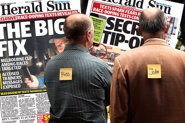 "Article image for Racing scandal: New text messages open new mystery and ""big concern"""