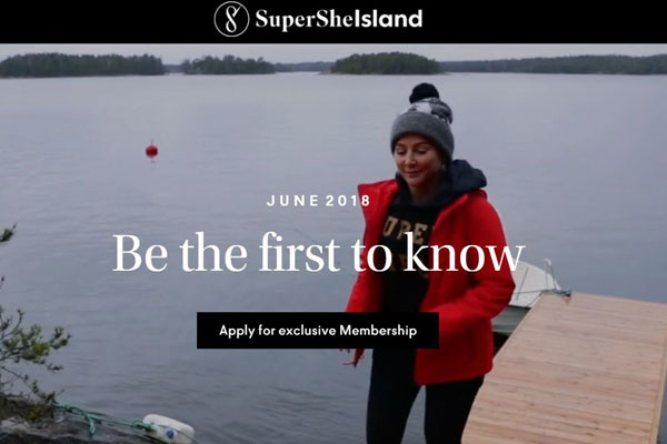 Article image for Female-only resort island set to open off Finland