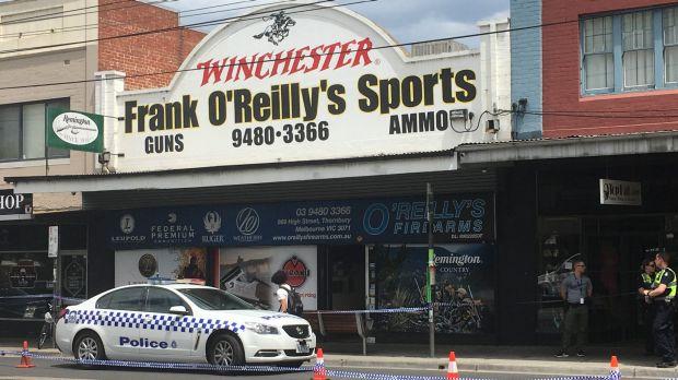 Article image for Gun shop heist: Six arrested in raids across Melbourne