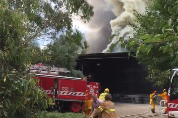 Article image for Neil Mitchell crosses live from Ten Minutes By Tractor restaurant fire