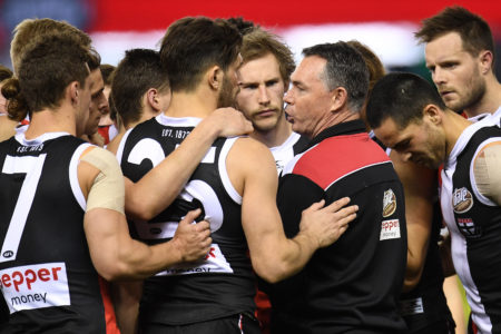Matthew Lloyd and Gerard Healy and their worry about St Kilda