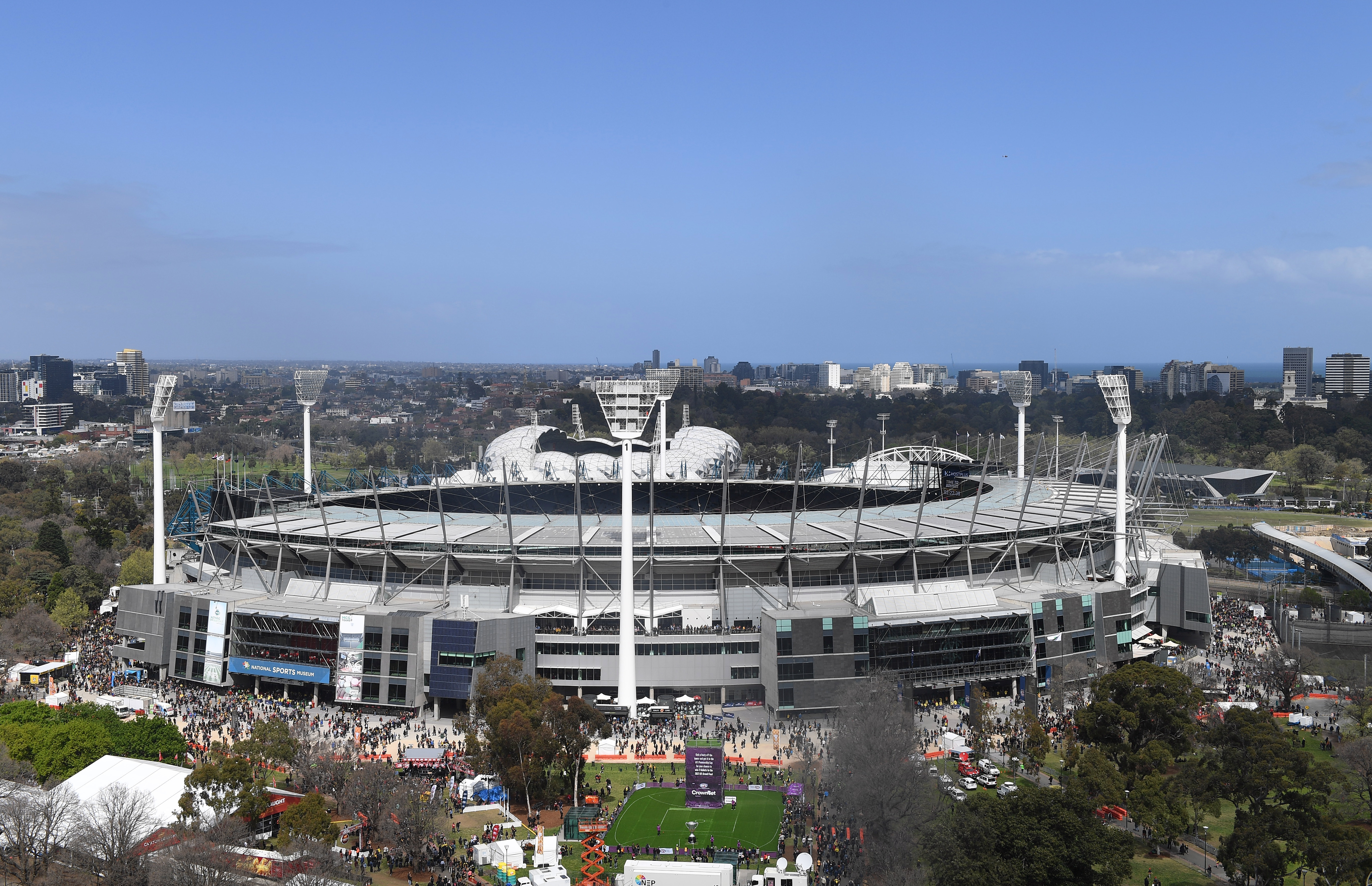 Article image for Grand Final at the MCG a disadvantage to interstate sides