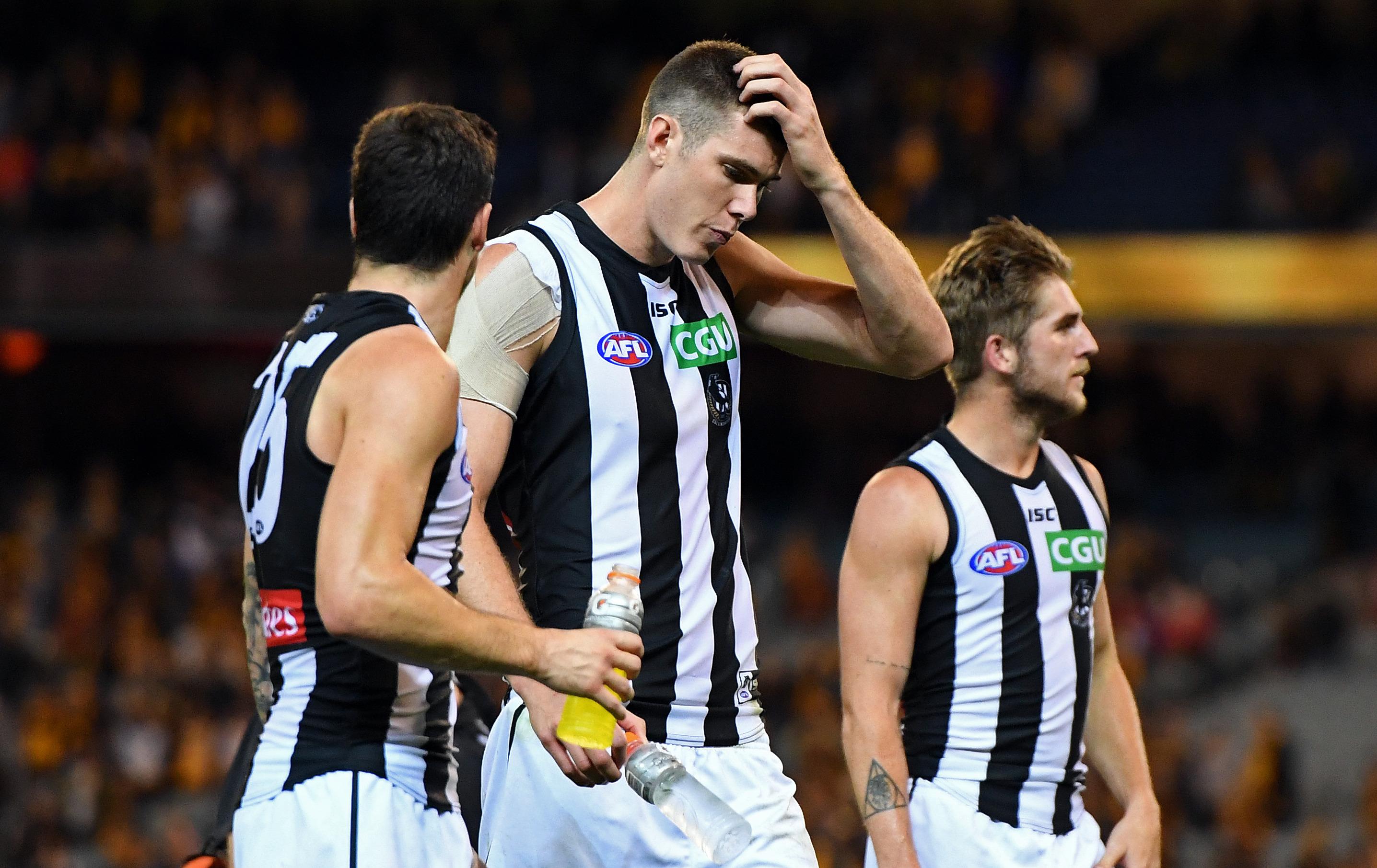 Article image for Collingwood big man and Brisbane midfielder handed bans
