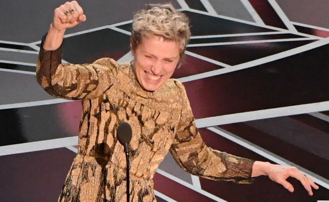 Article image for Schembri: Frances McDormand's diversity call at the Oscars could backfire.