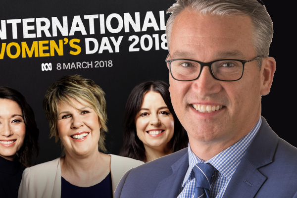 Article image for ABC presenter taken off-air slams broadcaster's International Women's Day policy