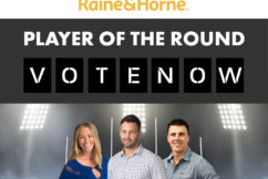 WIN $5,000 CASH: Raine & Horne Player of the Round