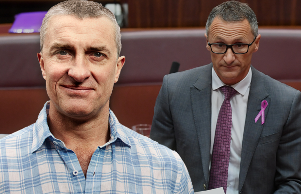 Article image for Tom Elliott slams 'ludicrous' outburst from Greens leader