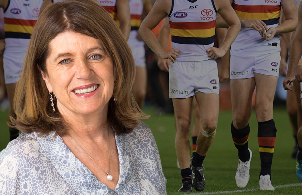 Article image for Caroline Wilson reveals Crow camp details that left players, family and friends 'outraged'