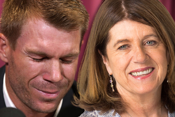 "Article image for Caroline Wilson questions the ""credibility"" of Warner's apology"