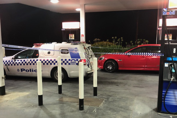 Article image for Rumour confirmed: Police investigating car shot up at service station