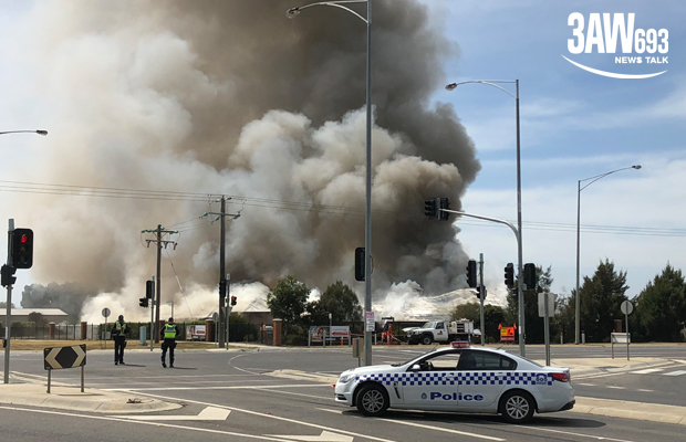 Article image for Cranbourne East fire: Childcare centre destroyed by blaze