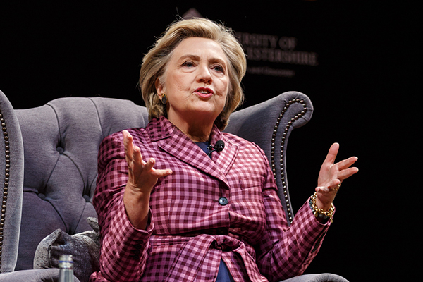 Article image for Hillary Clinton says women feel pressured to vote the same way as their husbands