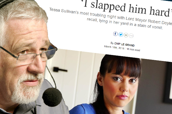 Article image for Neil Mitchell: Tessa Sullivan's latest allegations need to go to police