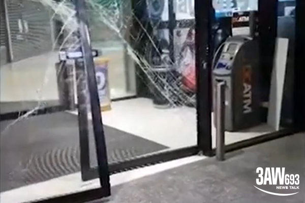 Article image for Ram raid overnight at shopping centre in Melbourne's west