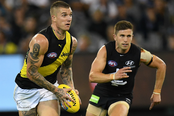 Article image for WRAP: Richmond kicks off its flag defence with a win in front of record crowd