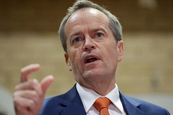 Article image for 'We were right. You were right. Bill was wrong': Shorten backs down on tax policy