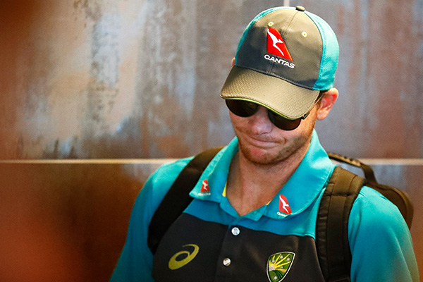 Article image for 'Only three knew': Players sent home, Smith 'distraught'