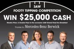 DON'T MISS OUT: Three more sleeps to join 3AW Footy Tipping
