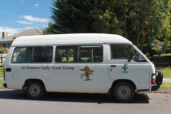 Article image for Scouts shocker: There's a thief driving around in this very distinctive van
