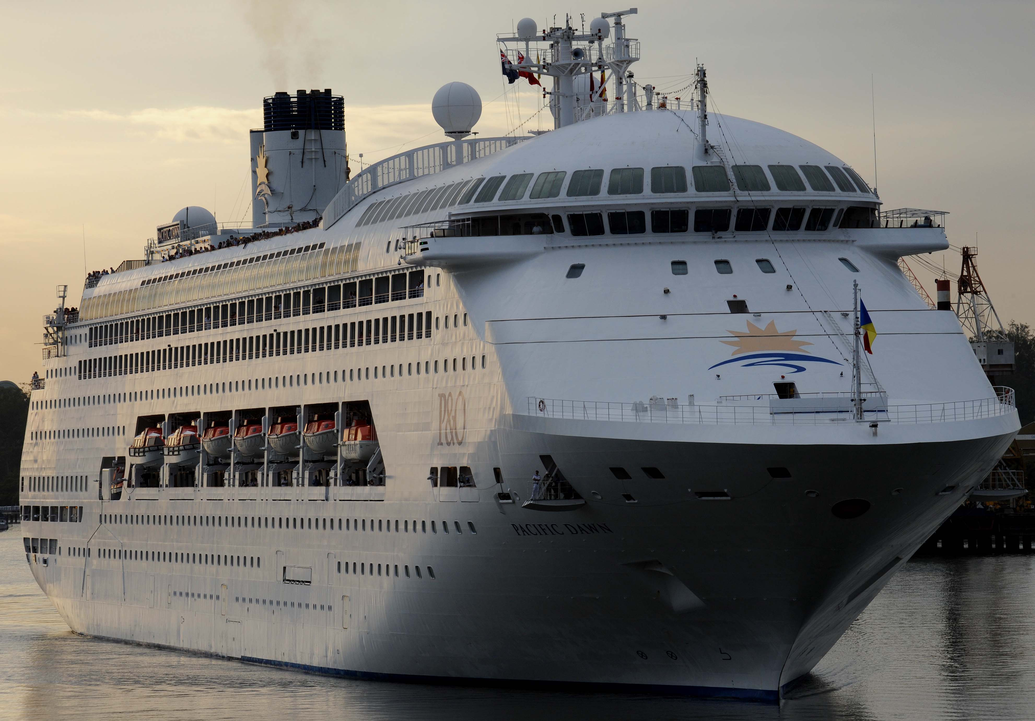 Article image for Search for woman who fell off cruise ship