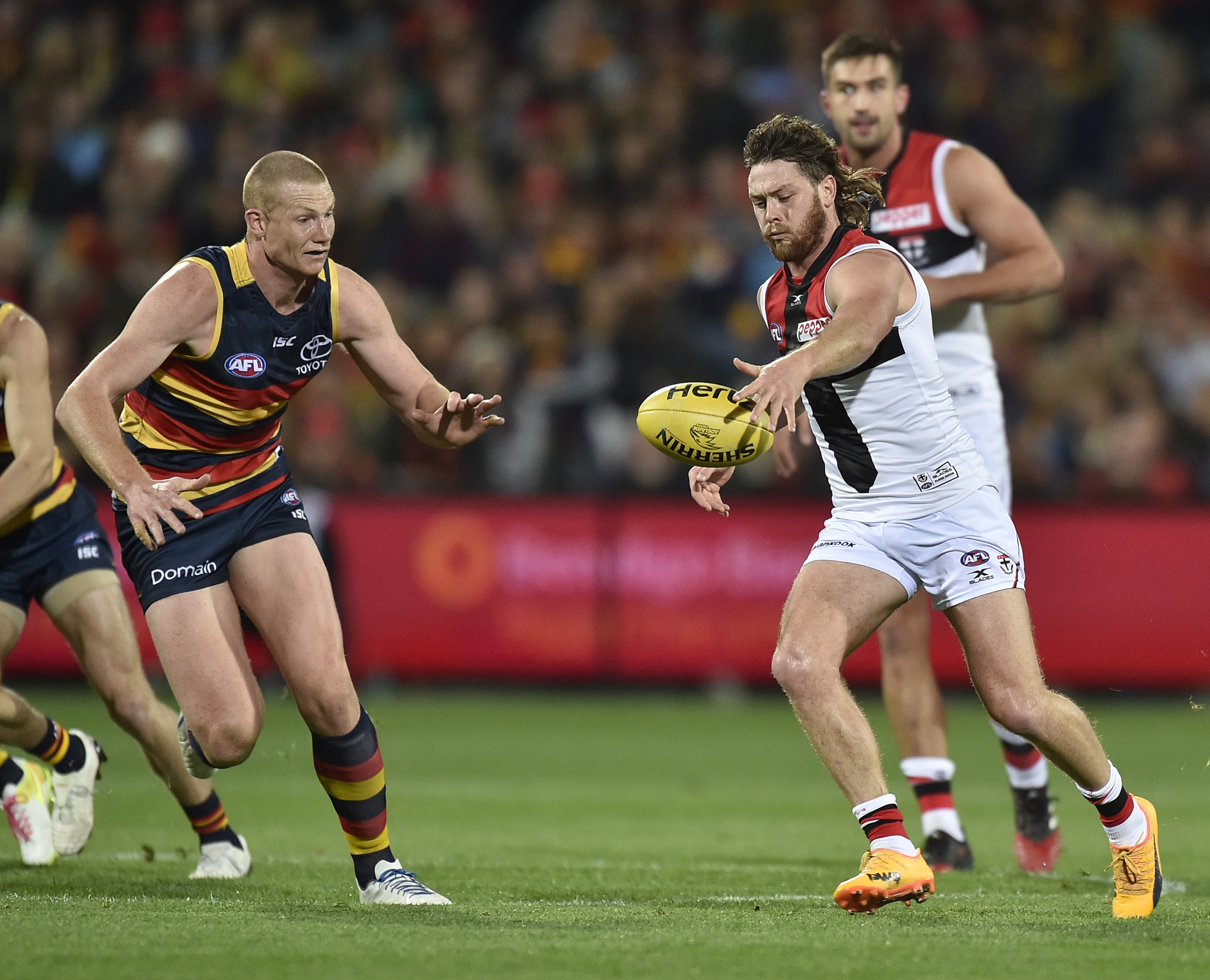 Article image for Adelaide piles the misery on St Kilda with 49-point win