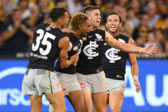 GAME DAY: Carlton v West Coast at the MCG