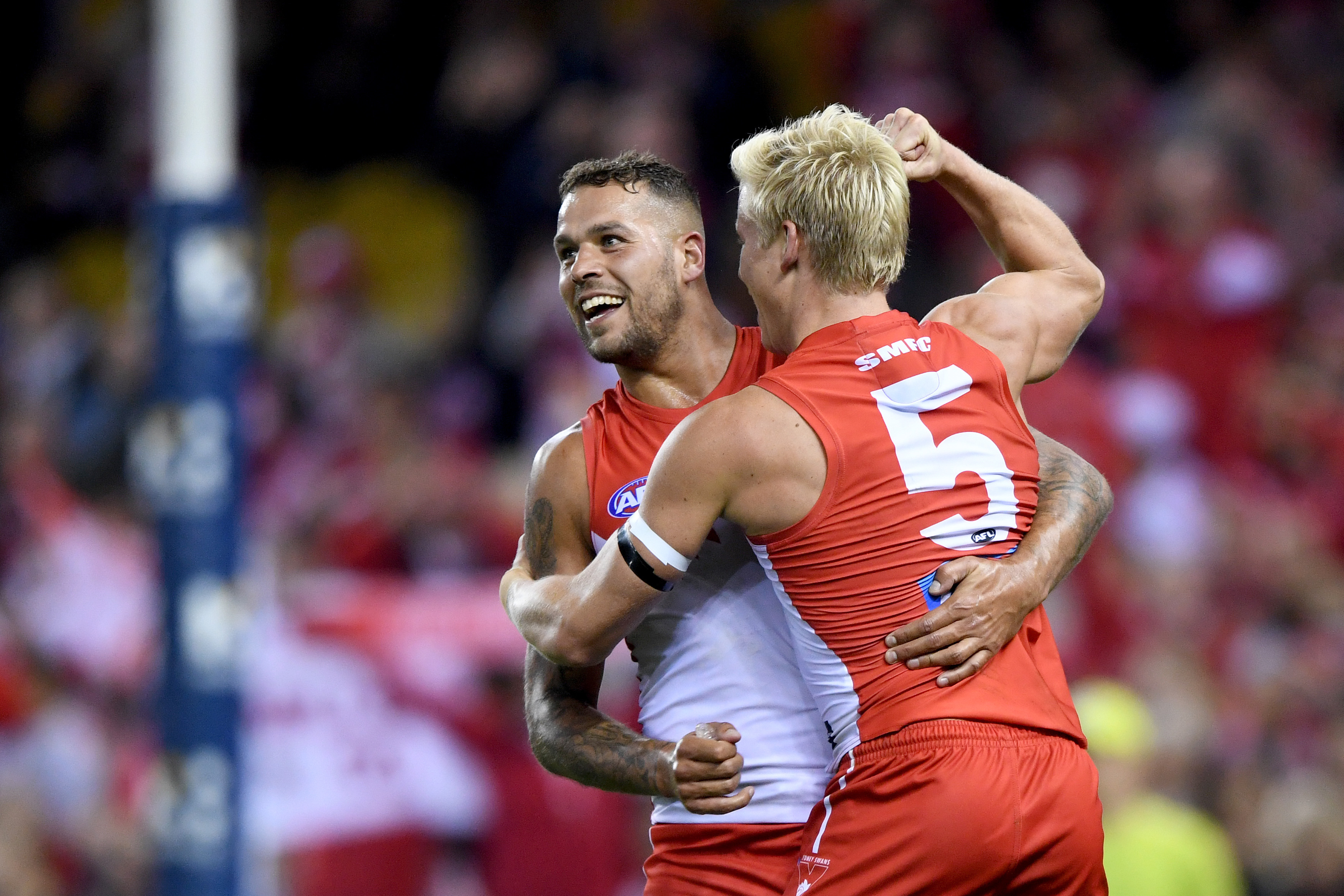 Article image for Sydney beats the Bulldogs in a seven-point thriller