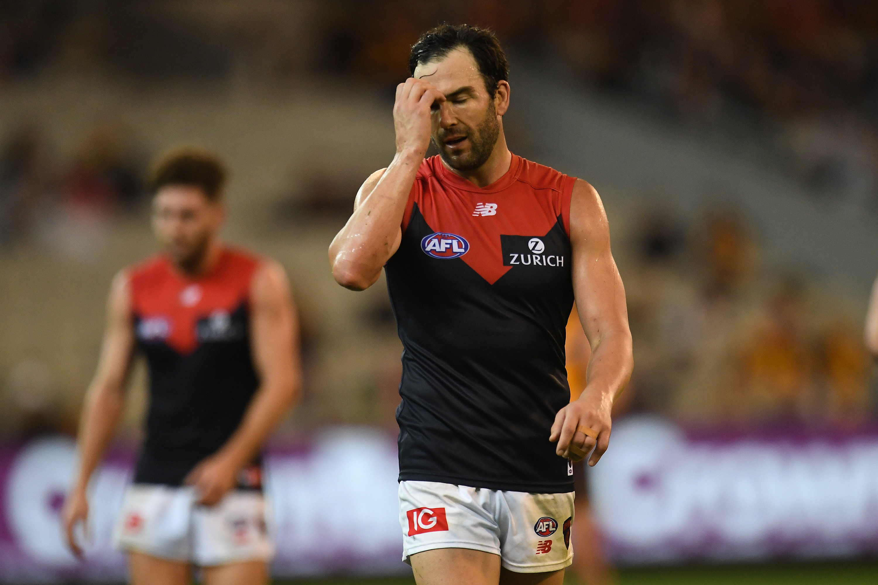 Article image for Jordan Lewis ruled out of Anzac Day eve clash