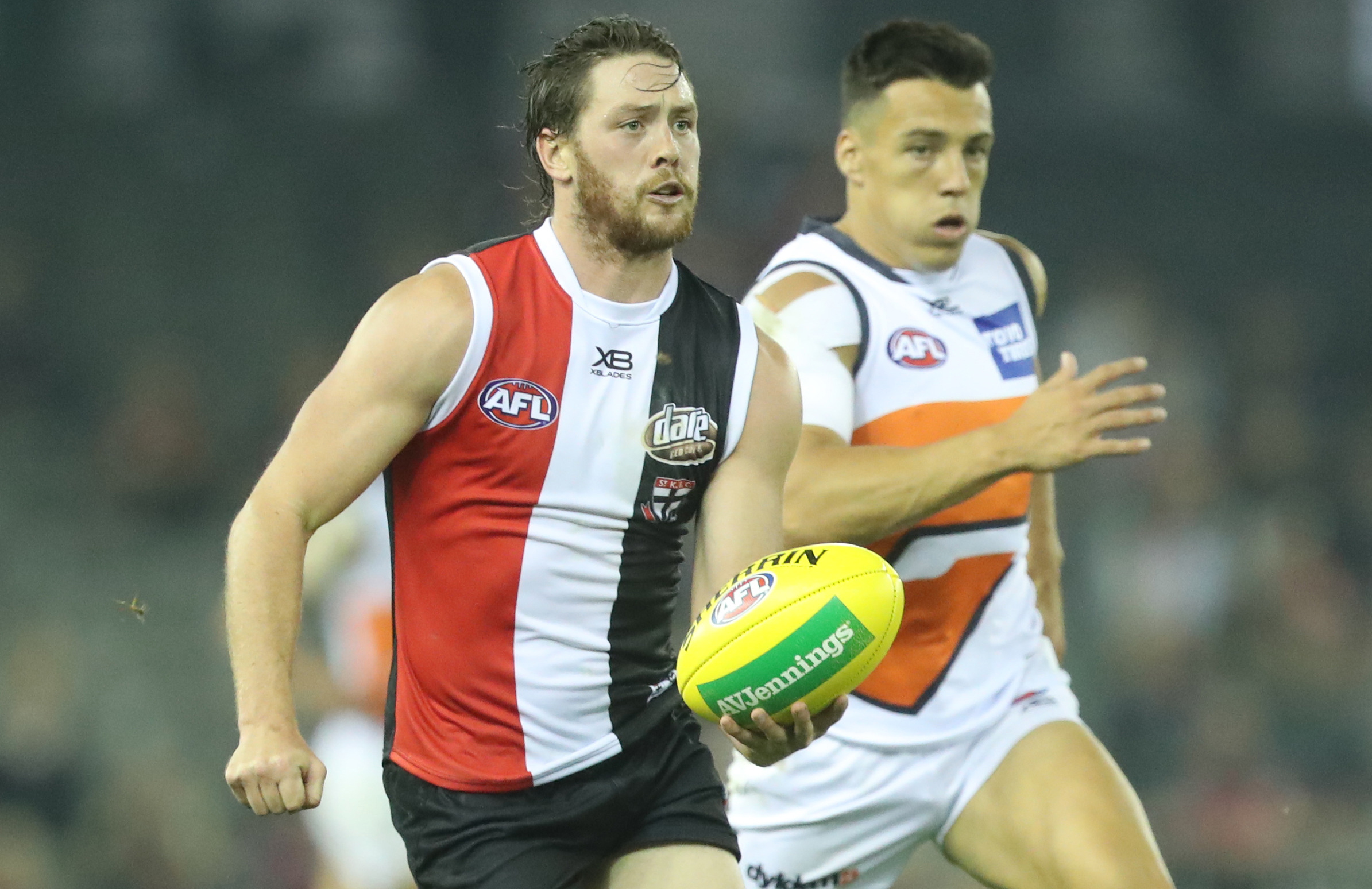 Article image for St Kilda answers the critics with solid draw with GWS