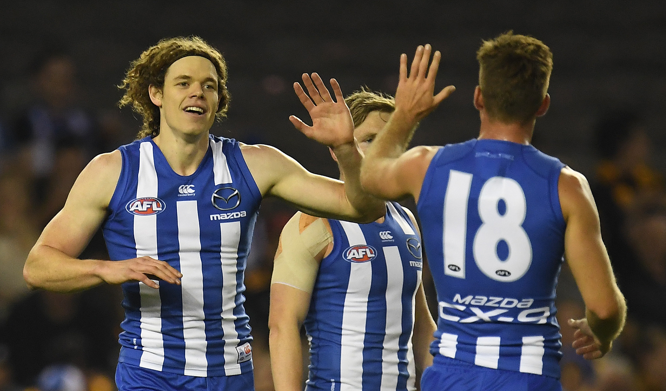 Article image for North Melbourne sends a warning to the league with a thumping win over Hawthorn