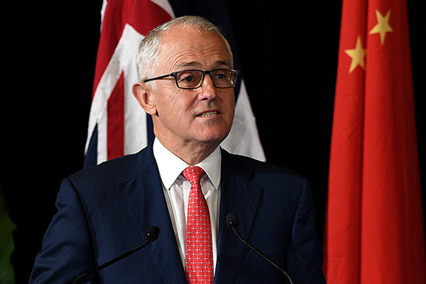 Article image for Turnbull: Tension grows in Chinese-Australian relationship
