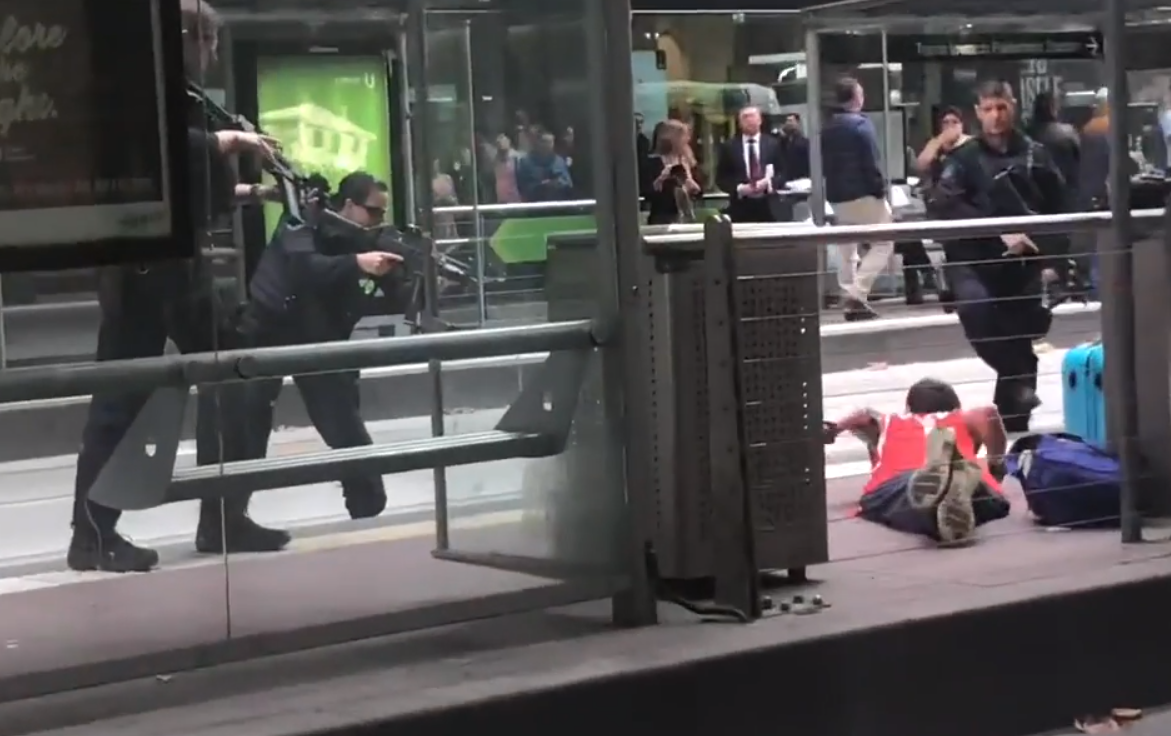 Article image for Screaming man arrested in dramatic CBD incident