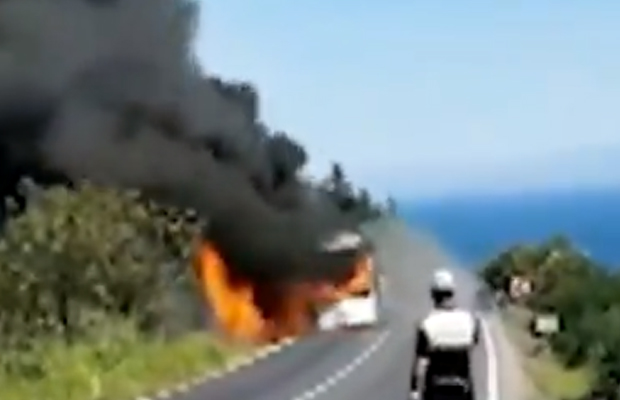 Article image for Aussie tourists make lucky escape on their way to Gallipoli