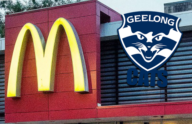 Article image for Geelong criticised over link with fast food chain