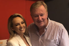 Samantha Jade in studio with Denis Walter