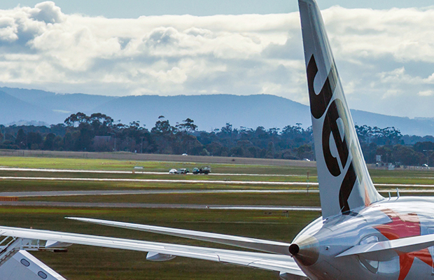 Article image for Plane turns back to Tullamarine airport after mid-air discovery