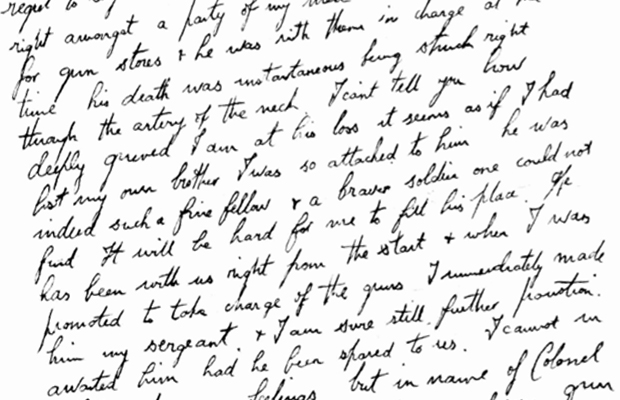 Article image for Neil Mitchell sent historic copy of the letter no parent wanted to read during the war