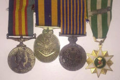Geelong woman devastated after losing her father's medals on Anzac Day