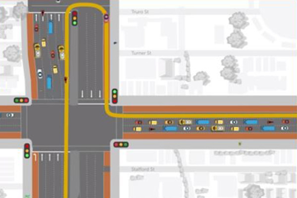 Article image for What is a P-turn? New traffic rules on Hoddle Street start today
