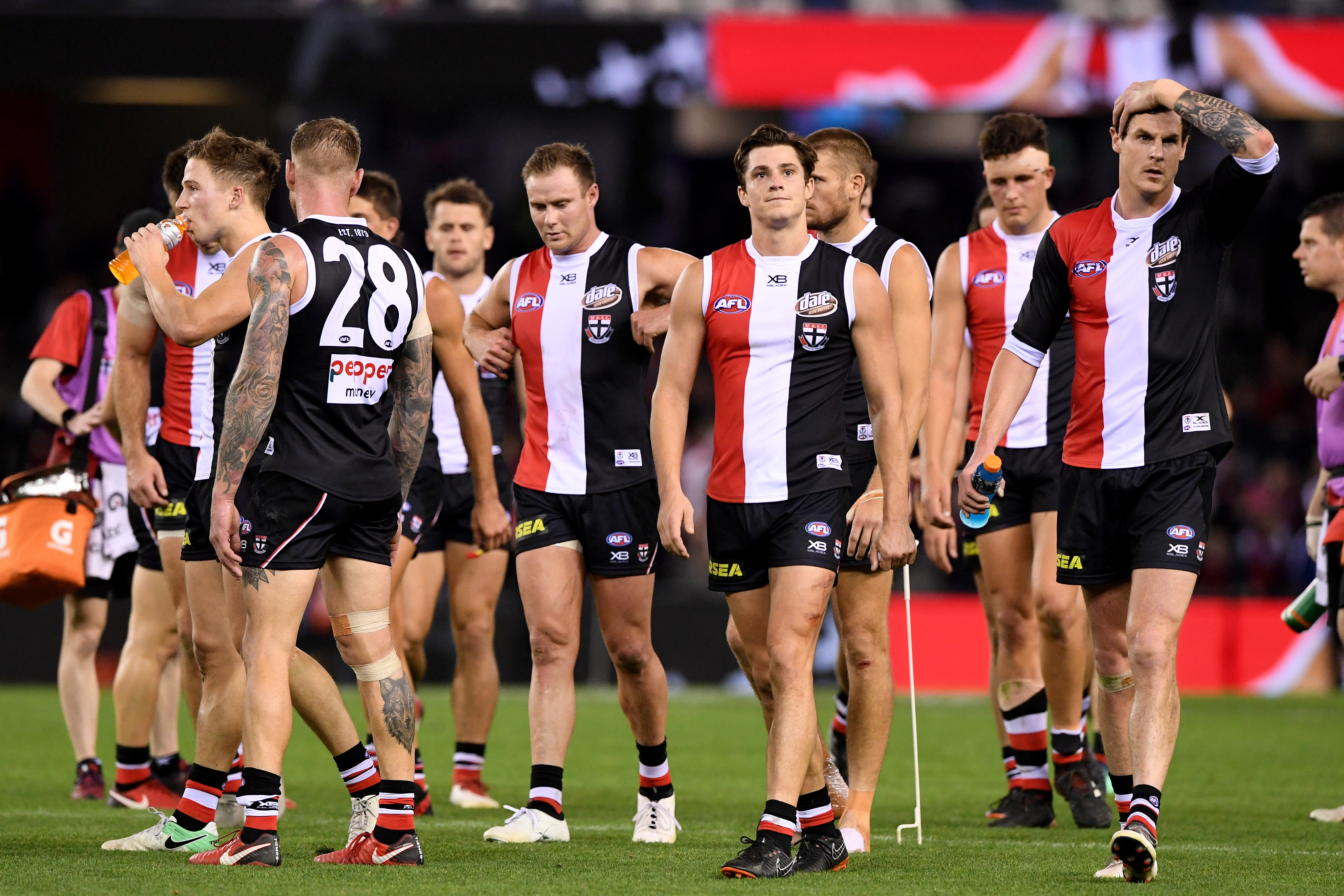 Article image for Cameron Ling's message for any St Kilda player who thinks they're 'going OK'