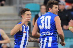 North reigns down south with 43-point win over GWS in Hobart