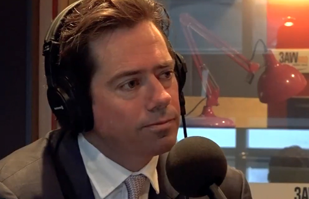 Article image for FIRST ON 3AW | Gillon McLachlan addresses Fremantle investigation, Dane Swan and Mark Thompson